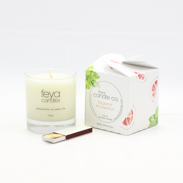 Burgamot Grapefruit Candle by Feya