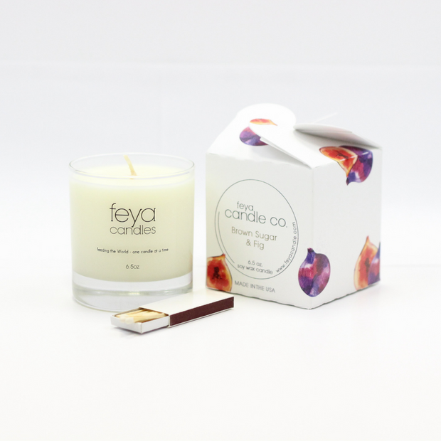 Brown Sugar Fig Candle by Feya