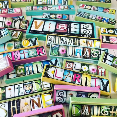 Create - Photo Letter Art