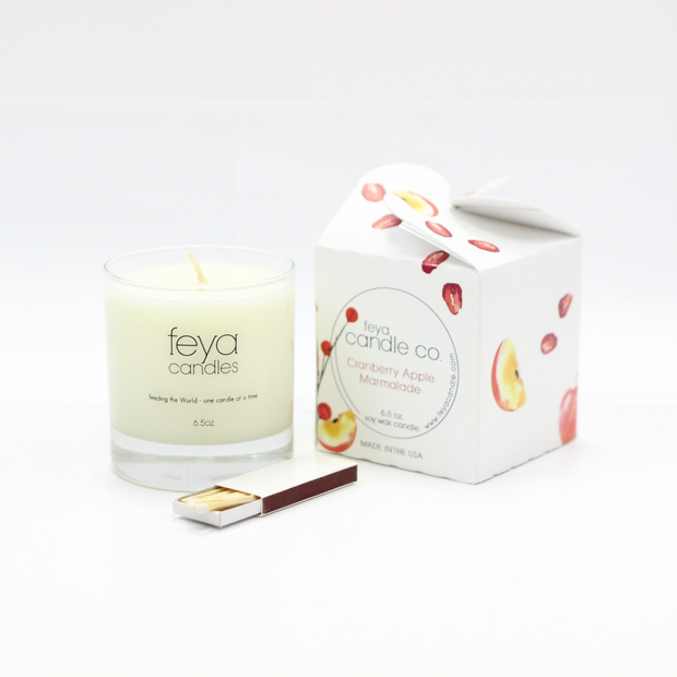 Cranberry Apple Marmalade Candle by Feya