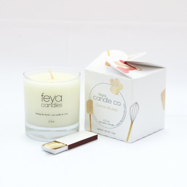 Creme Candle by Feya