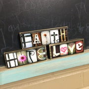 Love - Photo Letter Art