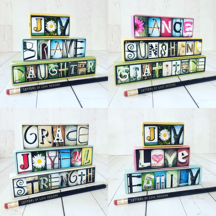 Hope - Photo Letter Art