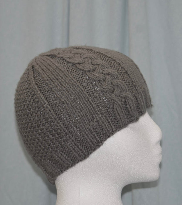 Handmade Classic Cable Knit Hat