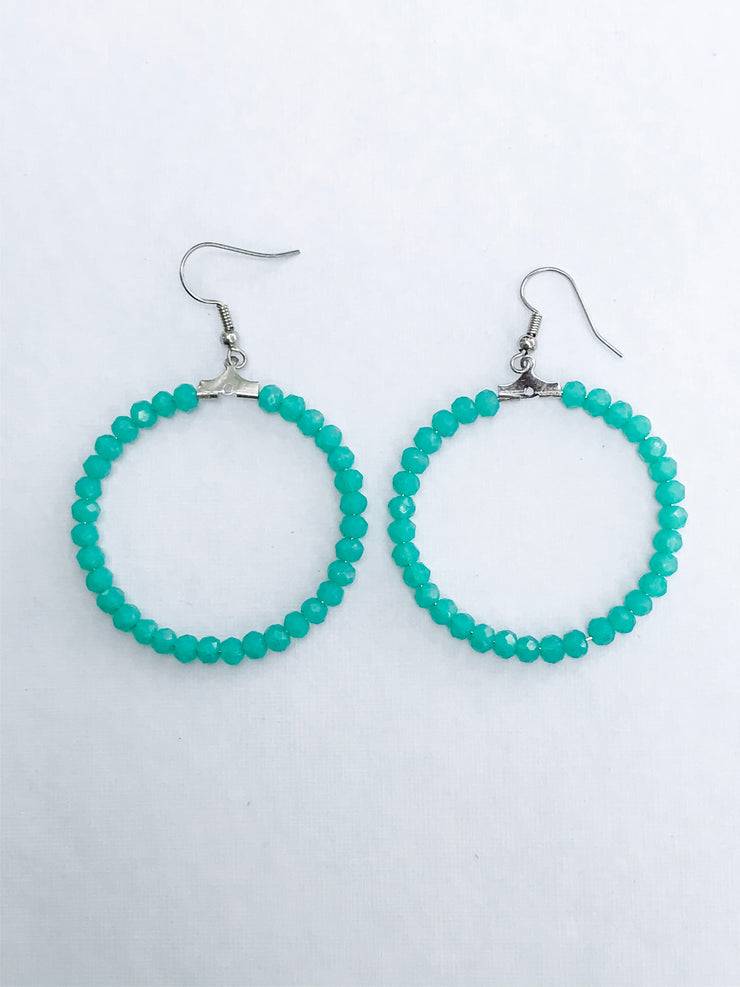 Sea Glass Freedom Earrings