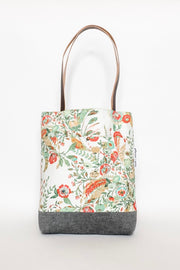 Tote Bag with Leather Handles by Jefferson James Goods
