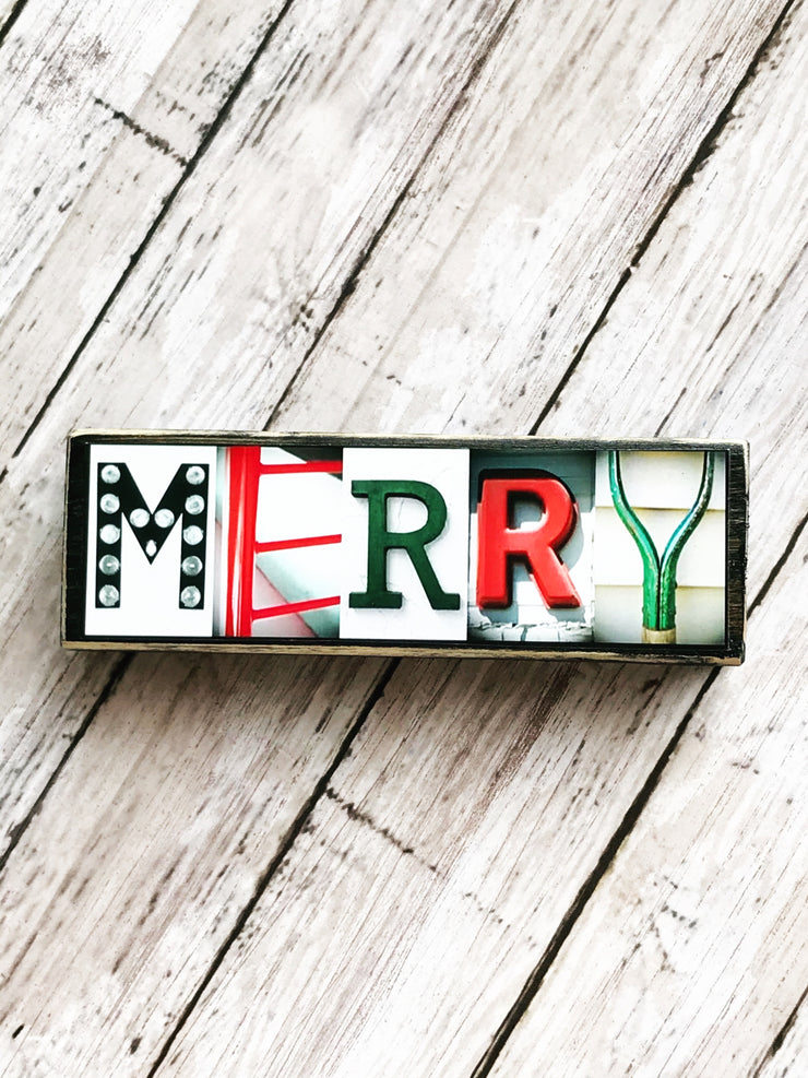 Christmas Designs - Photo Letter Art