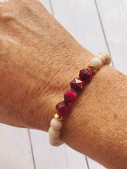 Breast Cancer Awareness -- Ripple Freedom Bracelet