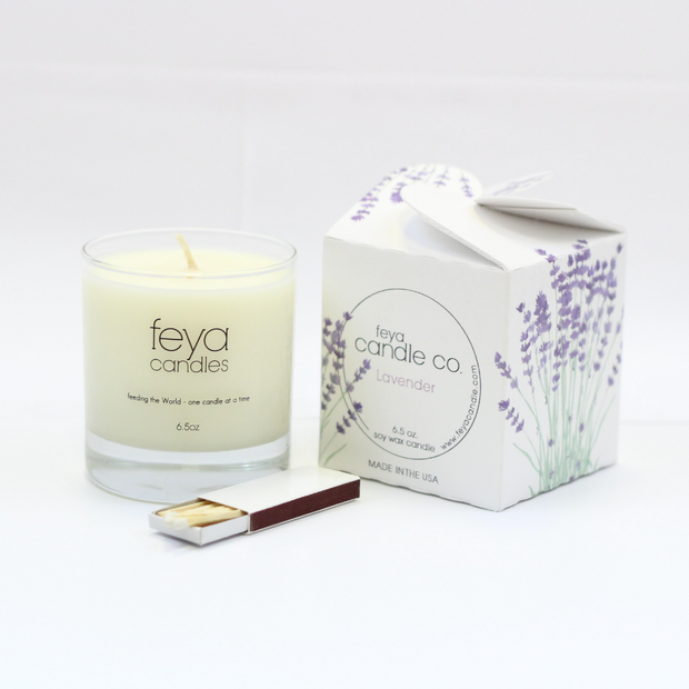 Lavender Candle by Feya