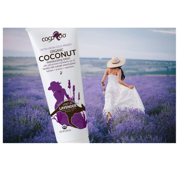 Lost in Lavender - Coconut Oil Moisturizer