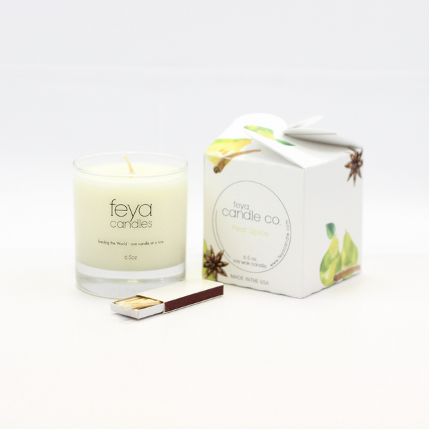 Pear Spice Candle by Feya