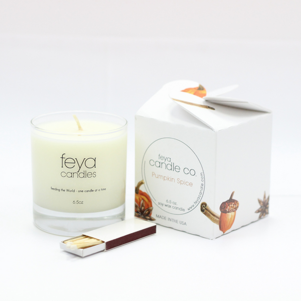 Pumpkin Spice Candle by Feya