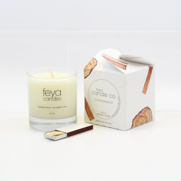 Sandalwood Candle by Feya