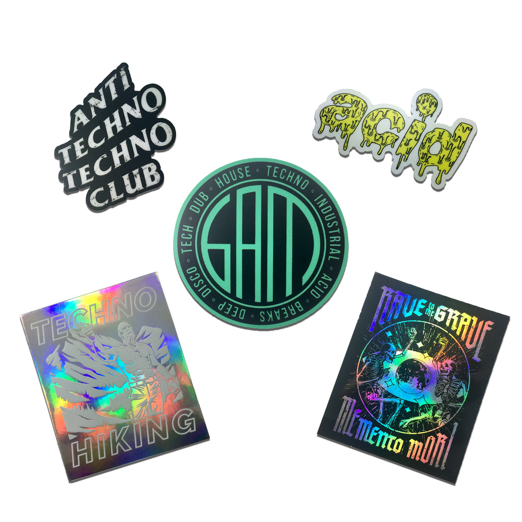 6AM Sticker Pack #1