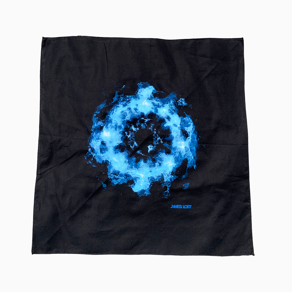 Blue Vortex Bandana by Dirty Epic