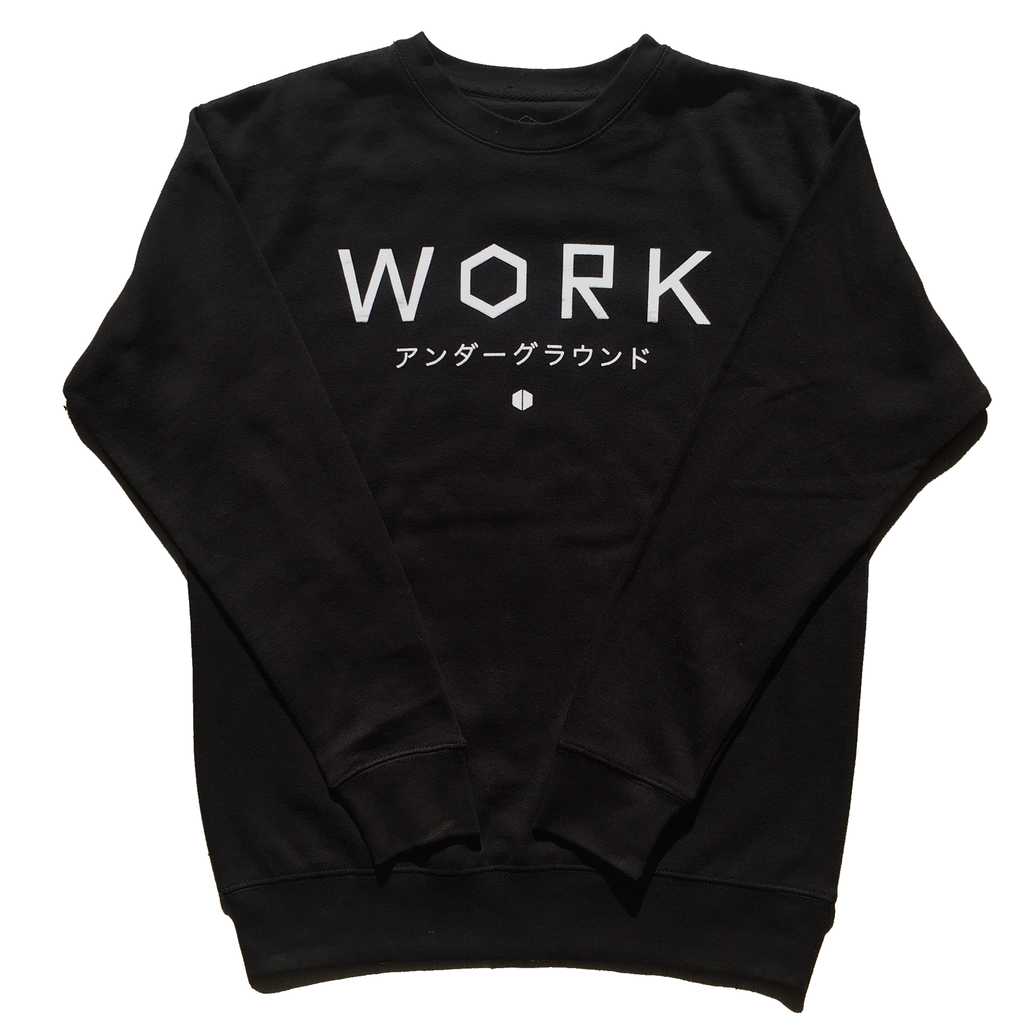 WORK Katakana Sweater