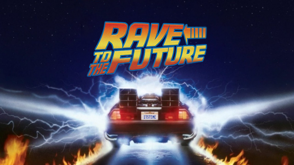 RAVE to the Future Tee