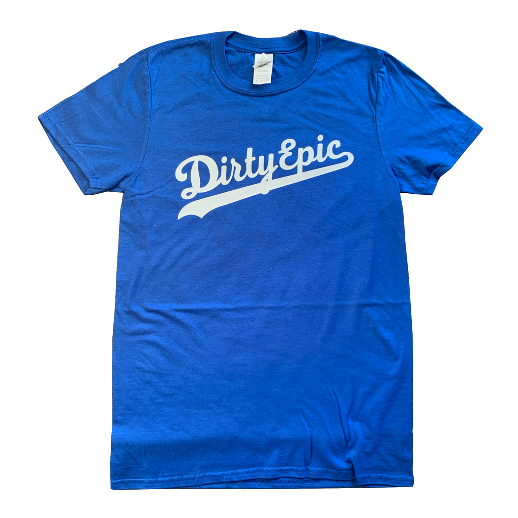 Dirty Epic World Series Champion | T-Shirt (Blue Edition)
