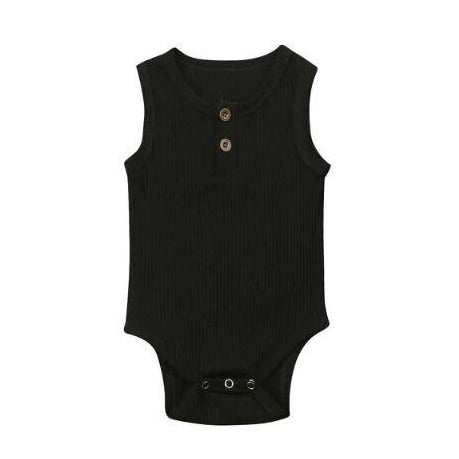 Basics Collection Sleeveless - Black