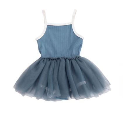 Savina Tutu Dress - Blue