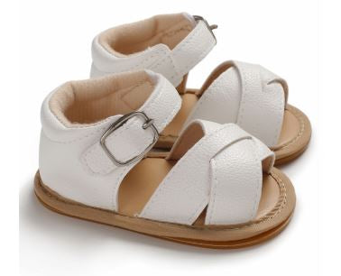 Jayla Sandals - White
