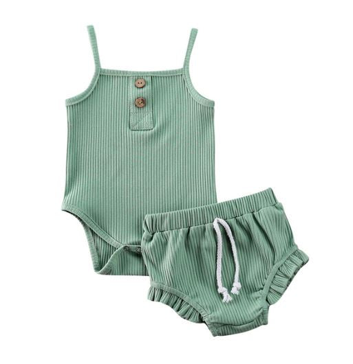 Mia Bloomer Set - Green