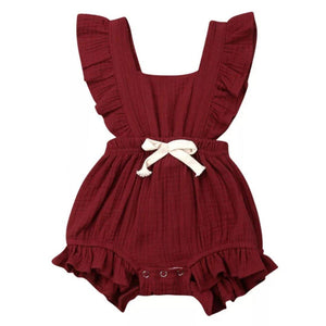 Mary Romper - Red