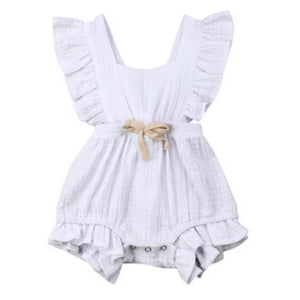 Mary Romper - White