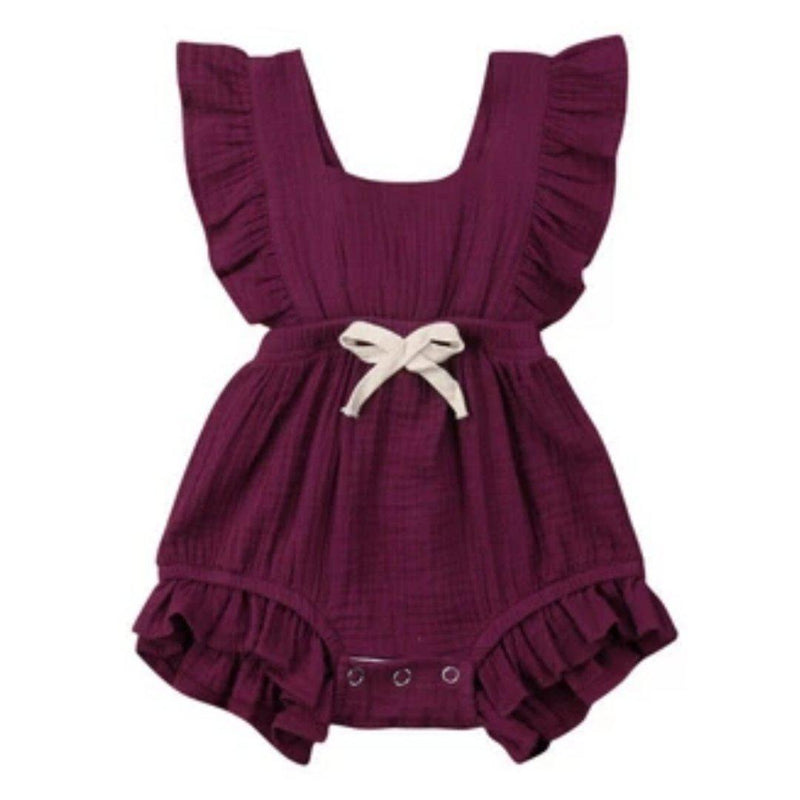 Mary Romper - Dark Purple