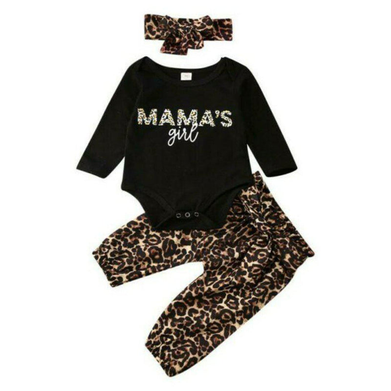 Mama's Girl Leopard Set