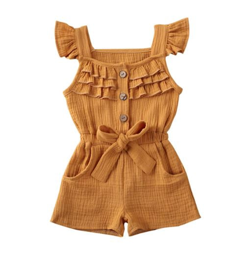 Nova Playsuit - Mustard