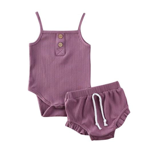 Mia Bloomer Set - Purple