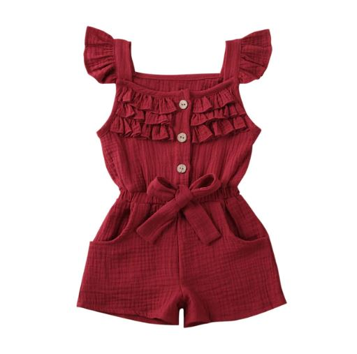 Nova Playsuit - Red