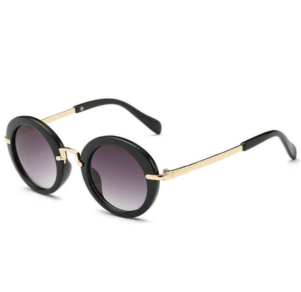 Miss Fashionista Sunglasses - Black
