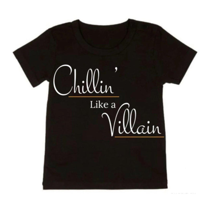 NC X The Label - Chillin' Like A Villain Tee