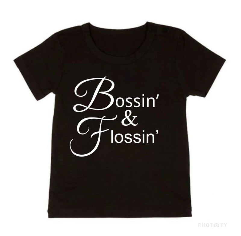 NC X The Label - Bossin' & Flossin' Tee