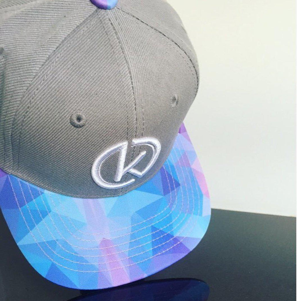 Blue Bliss Snapback - By Kinspi