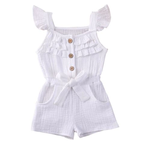 Nova Playsuit - White