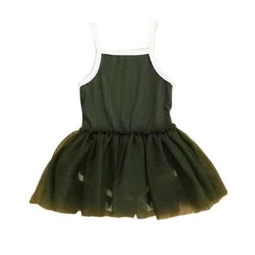 Savina Tutu Dress - Green