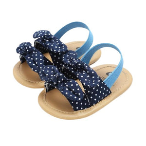 Esther Sandals - Spotted Bows