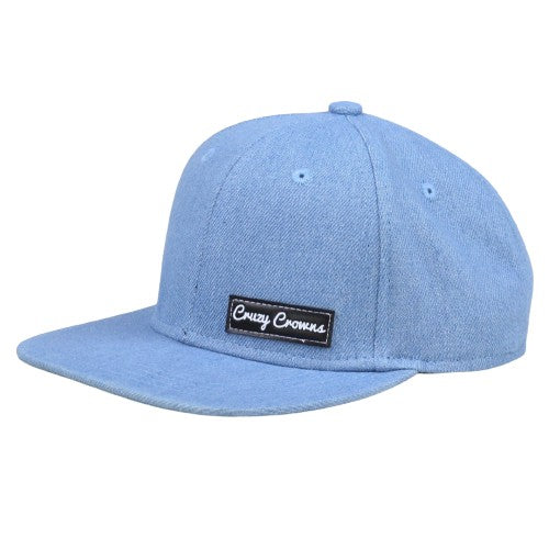Denim CJ Snapback - Cruzy Crowns