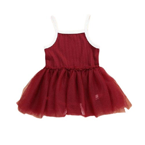 Savina Tutu Dress - Red