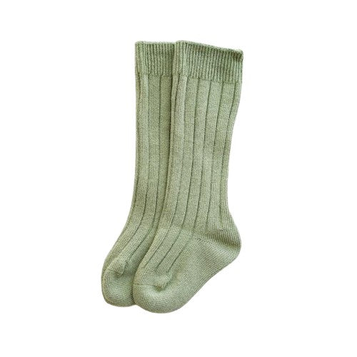 Knee High Socks - Green