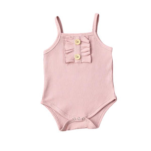 Sally Basic Bodysuit - Pink
