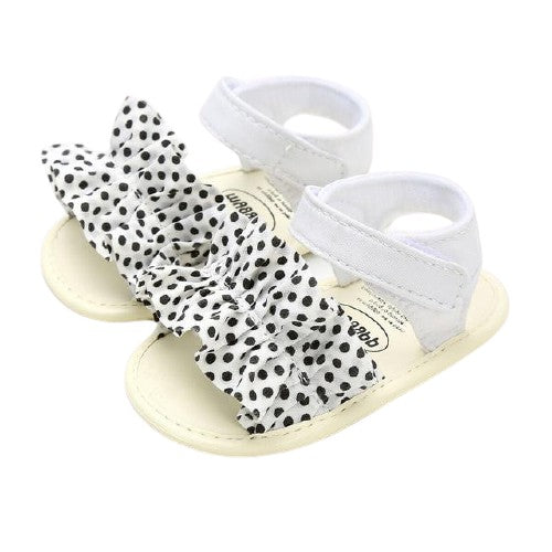 Esther Sandals - Spotted Ruffle