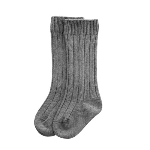 Knee High Socks - Grey