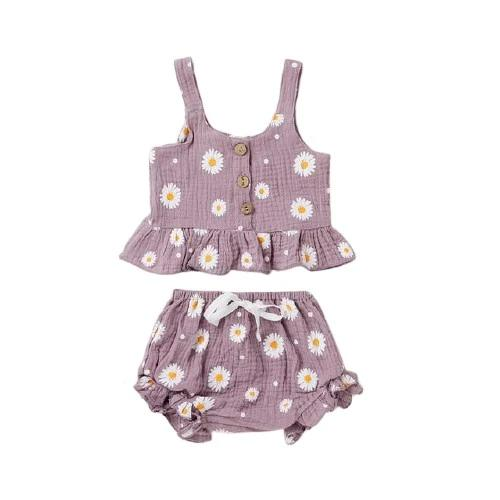 Tamira Daisy Set - Purple