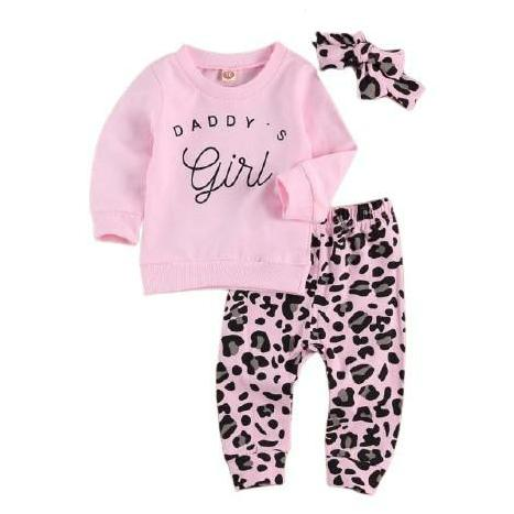 Daddy's Girl Set - Pink