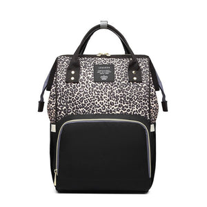 Nappy Bag - Brown Leopard