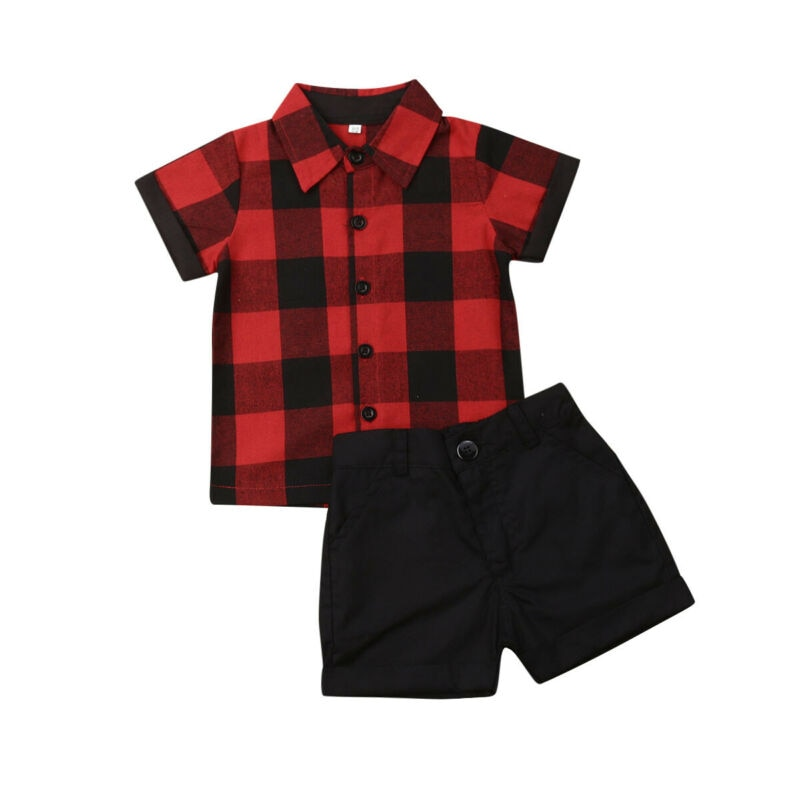 Dapper Plaid Set